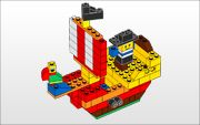 Pirate ship-Lego building directions