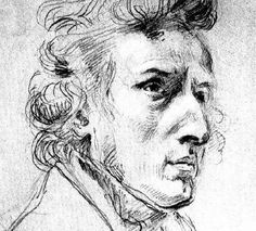 """Eugene Delacroix """"Chopin"""" - I want to learn to play a piece from memory by Chopin, Beethoven, and Mozart. This is something I know I can do if I devote the time. Look for it soon!"""