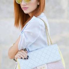 Chanel Pastel Marshmallow Leather Bag