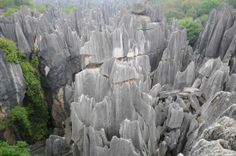 Stone Forest, National Geography Park, World Nature Heritage Site, Kunming, China: Shilin, Kunming by cutebabymary