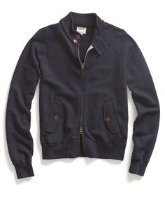 French Terry Barracuda Jacket by Todd Snyder. #toddsnyder