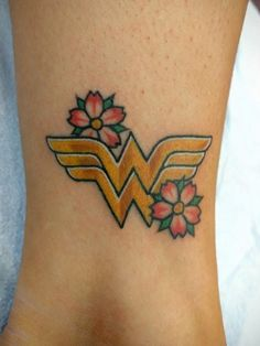 Image result for wonder woman tattoo