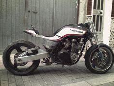 Kawasaki GPZ400 FII (plus) Kawasaki GPZ400FII, moto, custom, dogsville.es – dogsville.es