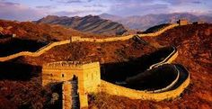 The Great Wall of China is one of the Seven Wonders of the World. It is the travel icon of China and is one of the most popular travel vacation destinations in the world. Beautiful Places To Visit, Cool Places To Visit, Places To Travel, Amazing Places, Places Around The World, Oh The Places You'll Go, Around The Worlds, Tianjin, Visit China