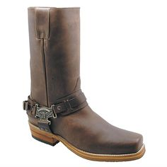 Botas Harley Davidson, Logger Boots, Cool Boots, Men's Boots, Western Boots, Boys Shoes, Leather Heels, Mens Fashion, Shoes