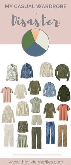 My Casual Wardrobe is a Disaster.... How to fix a casual capsule wardrobe that isn't working.