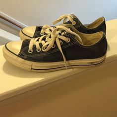 Converse Needs cleaning on sole but other than that shoe is in good condition women's 7.5 men's 5.5. No trade,  no low balling. Converse Shoes Sneakers