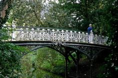 Add distinctive foot and bike bridges that lend character and utility.  vondelpark amsterdam - Google Search