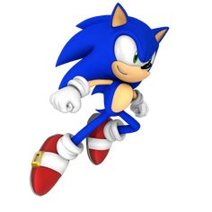 Sonic Leap Speed Render by Nibroc-Rock on DeviantArt Sonic Project, Sonic The Hedgehog, Vegetable Cartoon, Sonic Funny, Speed Of Sound, Sonic Franchise, Some Games, Minions, Video Game