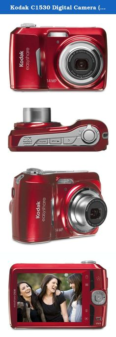 Kodak C1530 Digital Camera (Red). Kodak C1530 Digital Camera Overview Loaded with features like Smart Capture, 3X zoom, video mode and our exclusive Share button, the Kodak C1530 makes it simple to capture and share all of your favorite moments. Simply press to impress, from dinner parties to dance parties, big things are happening in your world. With the Kodak C1530, you can share all your hottest moments with just a touch of a button. Only KODAK Digital Cameras allow you to…