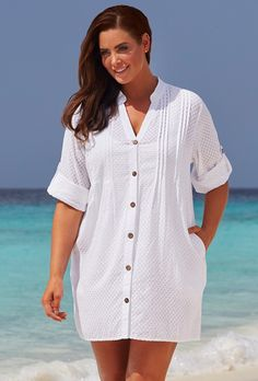 Shop plus size swimsuits by fit and by style from the online leader in flattering women's swimwear at Swimsuits For All. Plus Size Bikini Bottoms, Plus Size Tankini, Women's Plus Size Swimwear, Plus Size Womens Clothing, Plus Size Outfits, Plus Size Fashion, Clothes For Women, Size Clothing, Swimwear Cover Ups