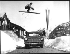 Austrian Alps 1950s