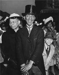WEEGEE (1899-1968)   Easter Sunday, Harlem, 1940