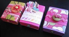 Come fare scatoline tipo scatola fiammiferi o con chiusura a laccetto - Tutorial e Modello da stampare