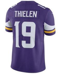 Nike Men s Adam Thielen Minnesota Vikings Vapor Untouchable Limited Jersey  - Purple XL Nike Men 307d93a0c