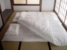 Futon bed japan