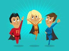 Superhero Cartoon Characters #superhero #character #cartoon