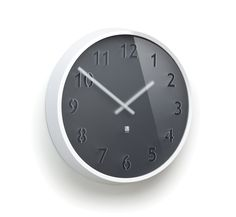 Amazon.com - Umbra Clairo Wall Clock, Charcoal/White - Clock Office
