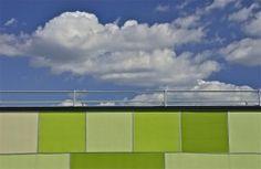 New apartments; SEPTA train station; Temple University, Philadelphia, Pennsylvania, USA.  September 2014.