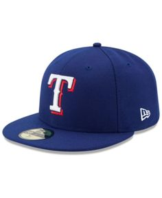 e6f5ee509cd New Era Kids  Texas Rangers Authentic Collection 59FIFTY Cap - Blue 6 3 8