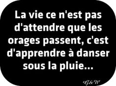 French Quotes proverbs and sayings French Phrases, French Words, French Quotes, French Sayings, Clouds And Rain, Cool Words, Wise Words, French Proverbs, Quotes To Live By