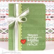 Holiday Gift Card Holder (Template)