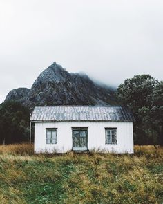 """""""isolated shack above the arctic circle. #stayandwander"""""""