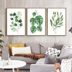 Wall art designs, deco jungle, frames on wall, wall art decor, room decor. Home Decor Wall Art, Living Room Decor, Diy Home Decor, Decor Room, Pinterest Wall Art, Deco Jungle, Home Modern, Cottage Art, Art Prints For Home
