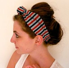 wunderbar: Retro Headband Tutorial