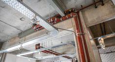Industrial ceiling @ Stek Amsterdam