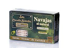 Navajas de la Ría Luis Escuris  http://tuaperitivo.com/27-conservas-del-mar