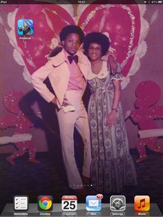 The sweethearts ball. Only 40 yrs ago. She's still REALLY cute.