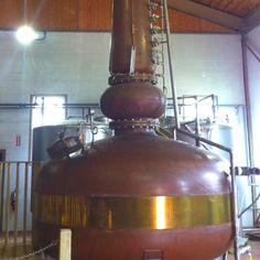 Making delicious whiskey at KBD