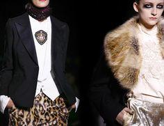 Dries Van Noten Fall/Winter 2016-2017 RTW - Paris Fashion Week  #fashion #runway