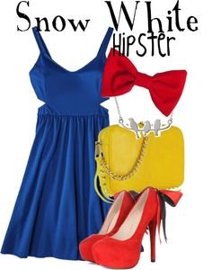 """""""snow white hipster"""" by lauren-claire-bacher on Polyvore"""