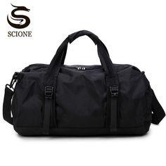 21c3957fd6 Scione Waterproof Travel Bag Multifunction Travel Duffle Bags for Men    Women Collapsible Bag Large Capacity