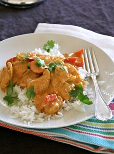 Enkel kyllingcurry til hverdagen - Mat På Bordet