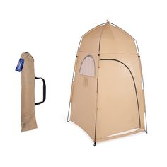 TOMSHOO Portable Outdoor Shower Bath Changing Fitting Room Tent Shelter Camping Beach Toilet - Walmart.com - Walmart.com Portable Outdoor Shower, Portable Tent, Portable Toilet, Zelt Camping, Camping Tarp, Camping Stuff, Outdoor Shower Enclosure, Shower Tent, Outdoor Privacy