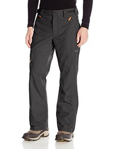 Oakley Mens Thunder GoreTex Bio Zone Shell Pant Jet Black XLarge *** Want to know more, click on the image. This is an Amazon Affiliate links.