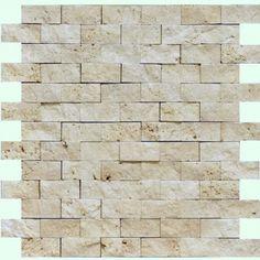 "1"" x 2"" Home Decor Natural Stone Mosaic"