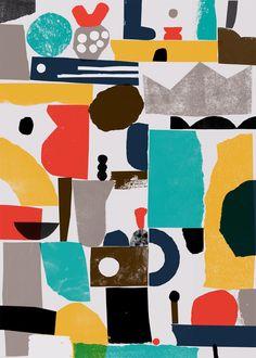 Nous Vous. Paper design for Wrap magazine.