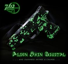 Glow in the dark Glock
