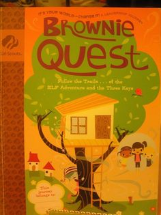 """It's Your World - Change It"" Brownie Quest Girl Scouts Journey Book"