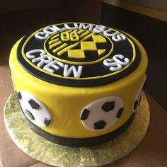 Birthday Cakes, Birthday Ideas, Columbus Crew, Cake Ideas, Soccer, Favorite Recipes, Desserts, Wedding, Food