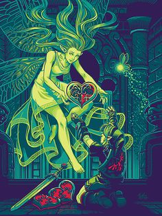 Link and The Great Fairy