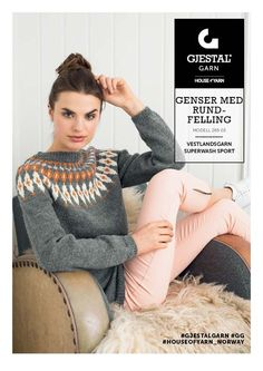 Bilderesultat for gjestal+østlandsgarn Free Clothes, Diy Clothes, Nordic Sweater, Icelandic Sweaters, Cute Fashion, Knit Cardigan, Crochet Projects, Free Pattern, Knitting Patterns