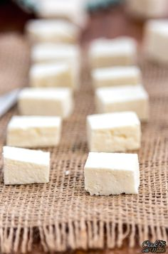 How to make paneer at home - easy recipe with step by step instructions.
