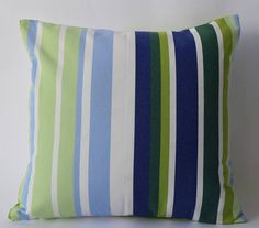 """One of a kind Marimekko Pillow Case Double-sidedPatterns: keinu and Kaivo 16""""x16""""(40x40cm) by PantsandPillows"""