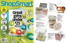 Shop Smart featured our Teak Salt & Pepper Set in the list of 25 sites for great gifts under $25!