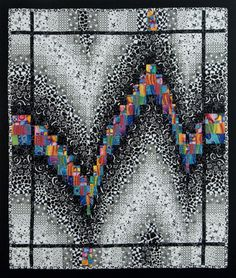 Black and White Bargello Quilt                                                                                                                                                                                 More